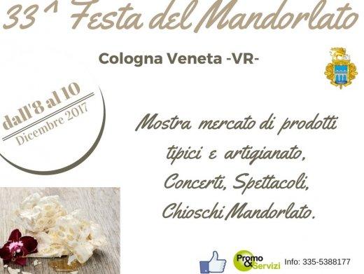 33^ FESTA DEL  MANDORLATO A COLOGNA VENETA